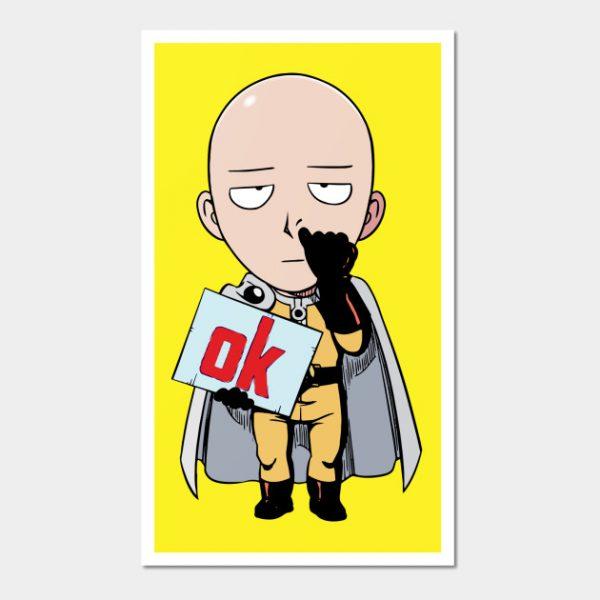 One Punch Man Ok - Saitama