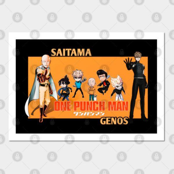 Saitama orange version