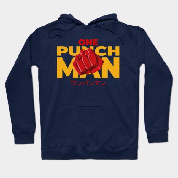 Cool One Punch Man Anime Streetwear