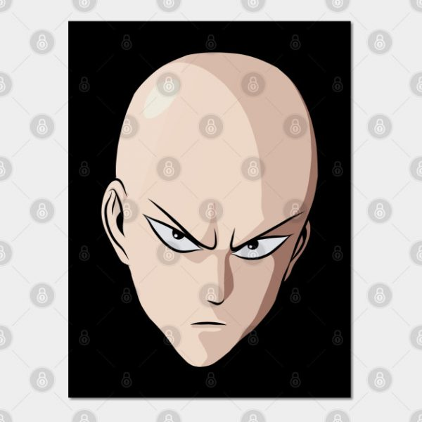 One Punch Man Business Face