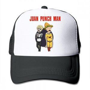 Casquette One Punch Man Saitama Genos Mexique 54 à 63cm Official Dr. Stone Merch