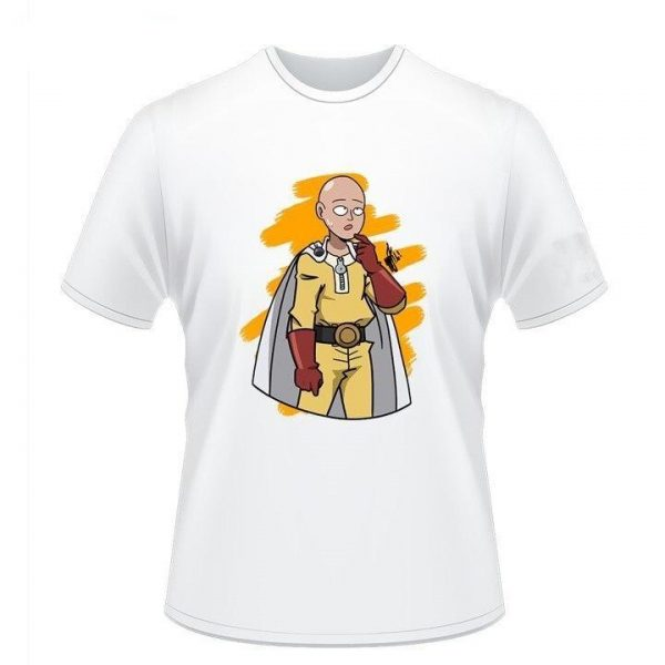 "T-Shirt One Punch Man Saitama ""Hein"" S Official Dr. Stone Merch"