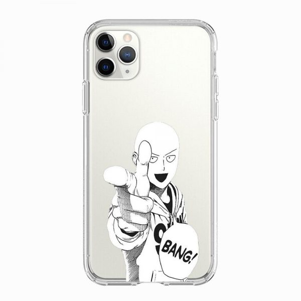 Coque One Punch Man iPhone Saitama Bang Iphone 5 S SE Official Dr. Stone Merch