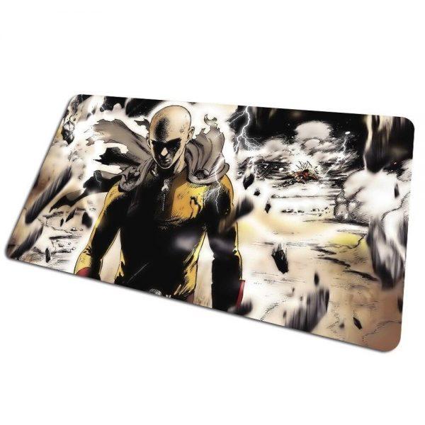 Tapis de souris bureau One Punch Man Saitama vs Lord Boros 800x400x4mm Official Dr. Stone Merch