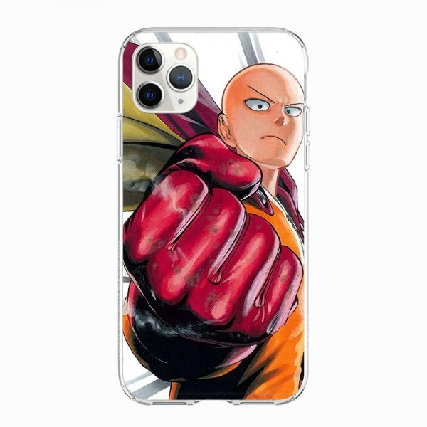 Coque One Punch Man iPhone Saitama Super Héro Iphone 5 S SE Official Dr. Stone Merch