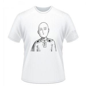 T-Shirt One Punch Man Saitama Pouvoir S Official Dr. Stone Merch