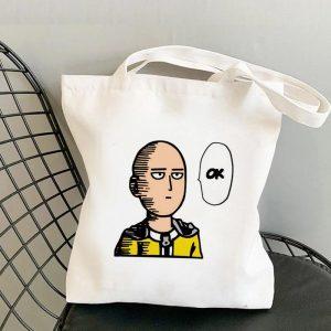 Tote Bag Saitama ok Toile résistante Official Dr. Stone Merch