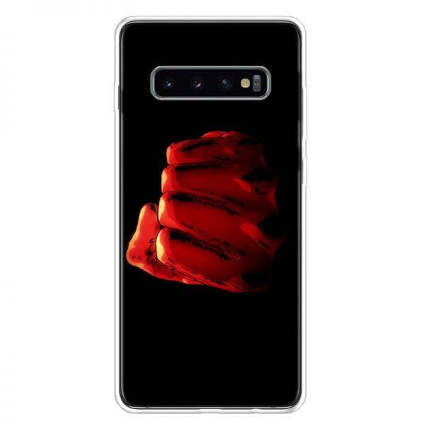 Coque One Punch Man Samsung Saitama Poing Géant Samsung A51 Official Dr. Stone Merch