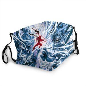 Masque Anti-Covid One Punch Man Garou vs Orochi Lavable / Moins de 10 ans Official Dr. Stone Merch