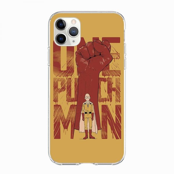 Coque One Punch Man iPhone Saitama Punch Iphone 5 S SE Official Dr. Stone Merch