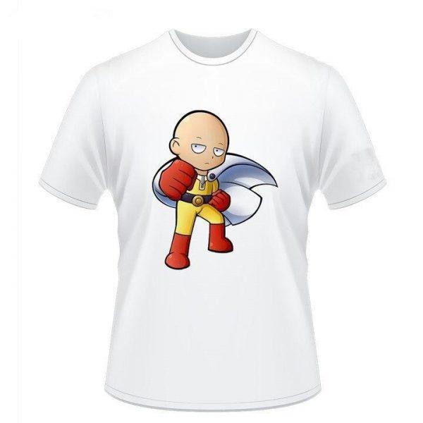 T-Shirt One Punch Man Saitama Force S Official Dr. Stone Merch
