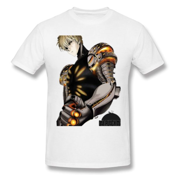 T-Shirt One Punch Man Genos Puissance S Official Dr. Stone Merch