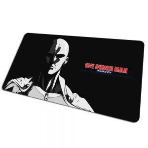 Tapis de souris bureau One Punch Man Dark Saitama 800x400x4mm Official Dr. Stone Merch
