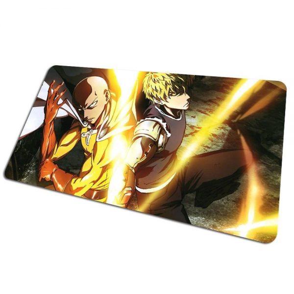 Tapis de souris bureau One Punch Man Saitama Sensei 800x400x4mm Official Dr. Stone Merch