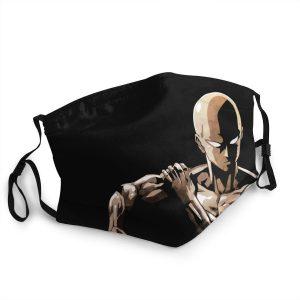 Masque Anti-Covid One Punch Man tests d'entrée Lavable / Moins de 10 ans Official Dr. Stone Merch