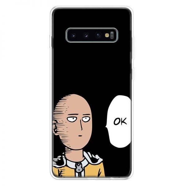 Coque One Punch Man Samsung Saitama Ok Samsung S7 Official Dr. Stone Merch