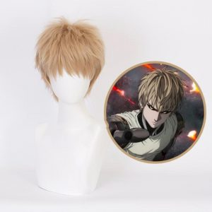 Cosplay Genos Perruque et Filet Official Dr. Stone Merch