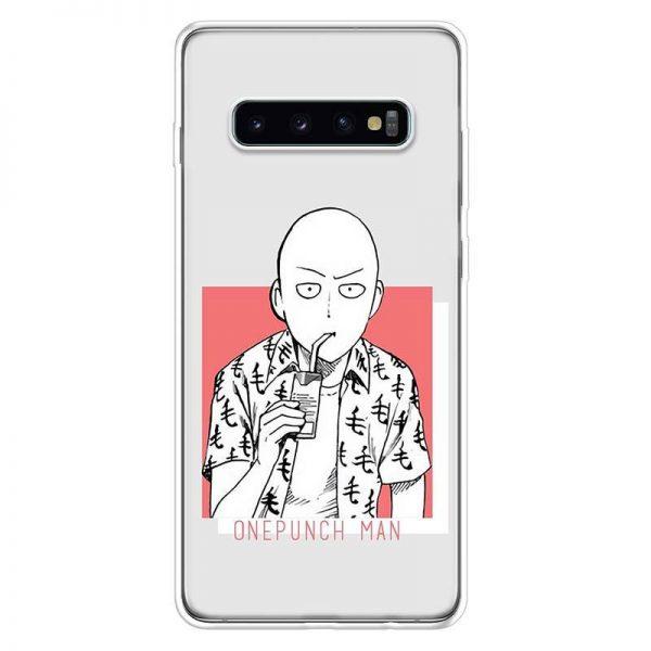 Coque One Punch Man Samsung Saitama Vacances Samsung S7 Official Dr. Stone Merch