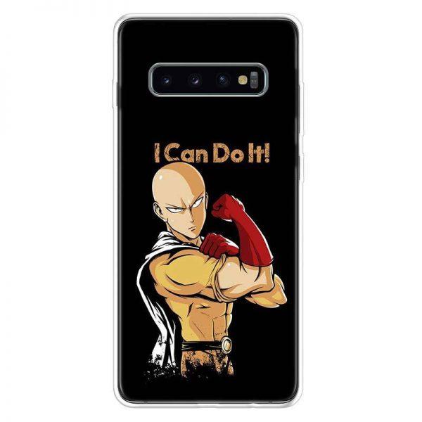Coque One Punch Man Samsung Saitama Peut le faire Samsung S7 Official Dr. Stone Merch