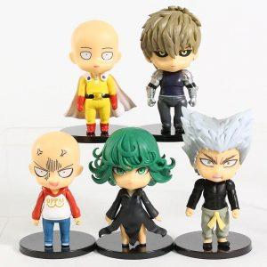 Lot de 5 figurines one punch man Mini figurines Official Dr. Stone Merch