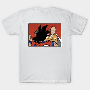 T-Shirt One Punch Man Saitama Gifle Goku S Official Dr. Stone Merch