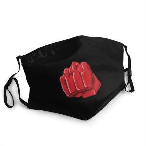 Masque Anti-Covid One Punch Man Saitama Coup de poing Lavable / Moins de 10 ans Official Dr. Stone Merch