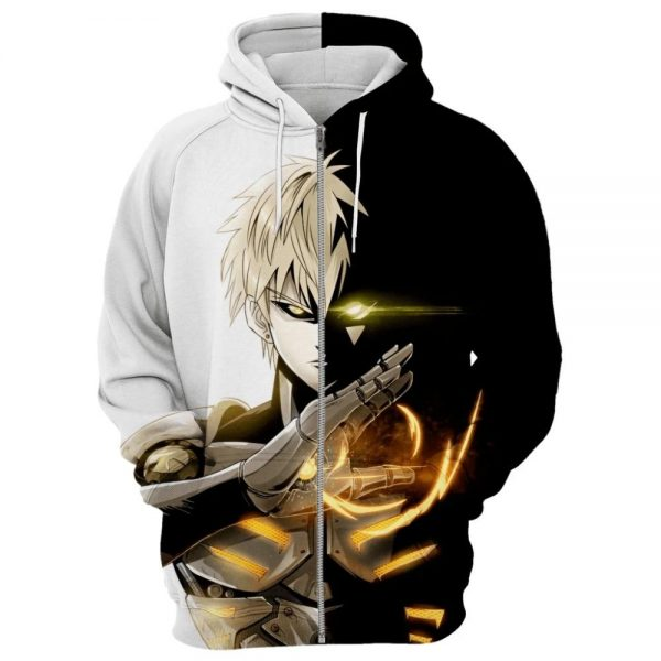 Sweat One Punch Man Genos démon XS Official Dr. Stone Merch