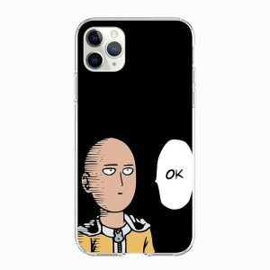 Coque One Punch Man iPhone Saitama Ok Iphone 5 S SE Official Dr. Stone Merch