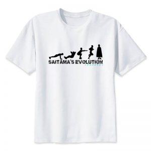 T-Shirt One Punch Man Saitama Evolution Darwin S Official Dr. Stone Merch