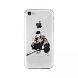 Coque One Punch Man iPhone Batte-Man  (Kinzoku Batto) Iphone 4s Official Dr. Stone Merch