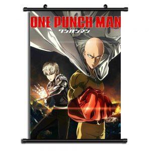 Poster One Punch Man XXL Saitama Genos 20x30cm Official Dr. Stone Merch