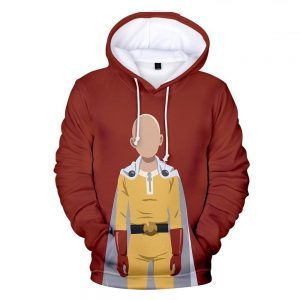Sweat One Punch Man Saitama Silhouette XS Official Dr. Stone Merch