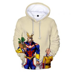 Sweat One Punch Man Saitama All Might MHA XS Official Dr. Stone Merch