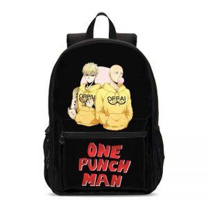 Sac à dos One Punch Man Saitama Genos Oppai H47 x L31 x P14 Official Dr. Stone Merch