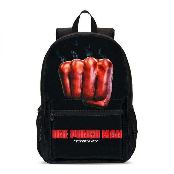 Sac à dos One Punch Man Poing Saitama H47 x L31 x P14 Official Dr. Stone Merch