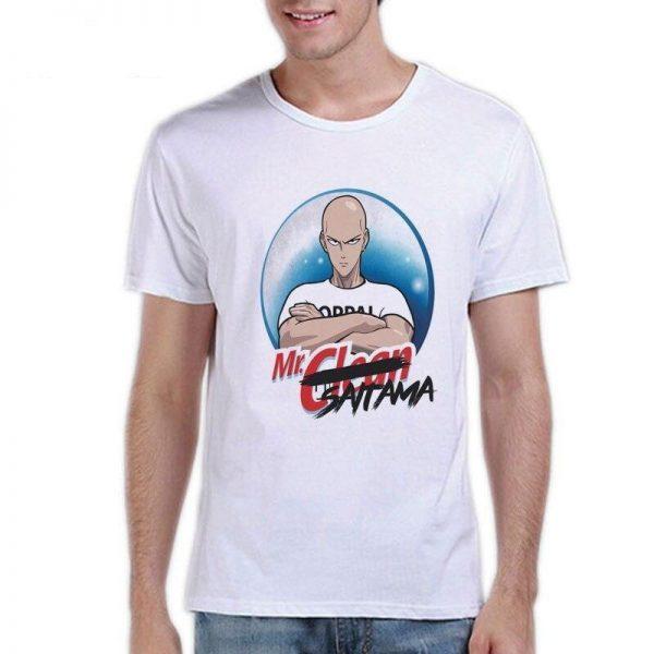 T-Shirt One Punch Man Saitama Mr Propre S Official Dr. Stone Merch