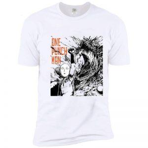 T-Shirt One Punch Man Saitama destruction Monstre S Official Dr. Stone Merch