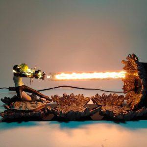 Lampe LED One Punch Man Genos (16cm) Démonté Official Dr. Stone Merch