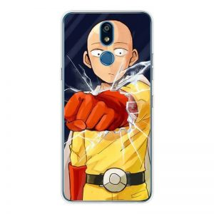 Coque One Punch Man LG Saitama Poing LG K50 Official Dr. Stone Merch