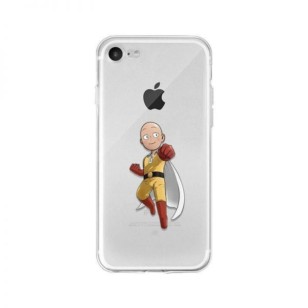 Coque transparente One Punch Man iPhone Saitama Punch Iphone 4s Official Dr. Stone Merch