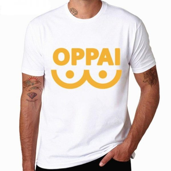 T-Shirt One Punch Man Oppai Jaune S Official Dr. Stone Merch