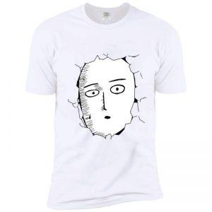 T-Shirt One Punch Man Saitama mur S Official Dr. Stone Merch