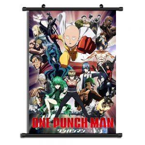 Poster One Punch Man XXL Fubuki Bang 20x30cm Official Dr. Stone Merch