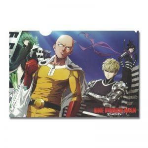 Poster Toile One Punch Man Saitama Tatsumaki Genos Sonic 30x45cm Official Dr. Stone Merch