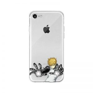Coque One Punch Man iPhone Genos Démon Cyborg Iphone 4s Official Dr. Stone Merch