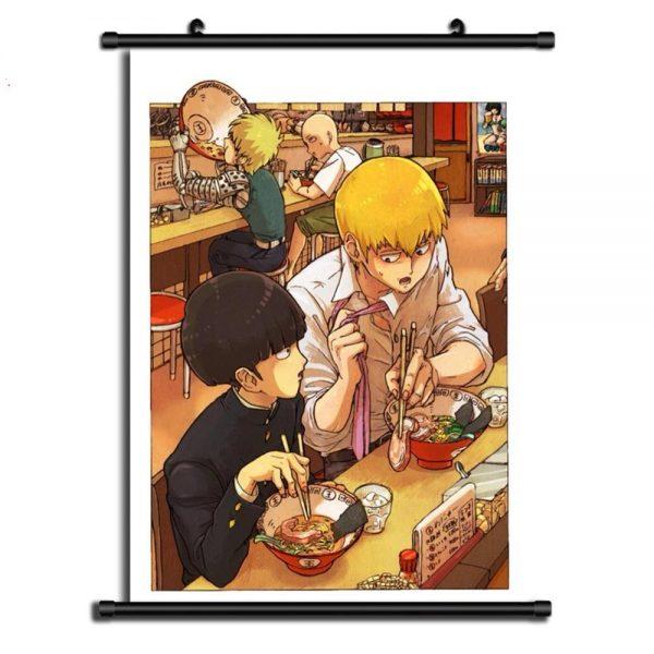 Poster One Punch Man XXL Saitama Genos Restaurant 20x30cm Official Dr. Stone Merch