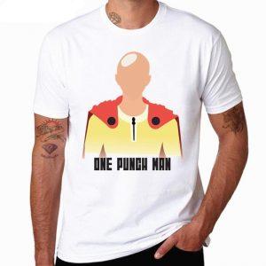 T-Shirt One Punch Man Saitama de face S Official Dr. Stone Merch