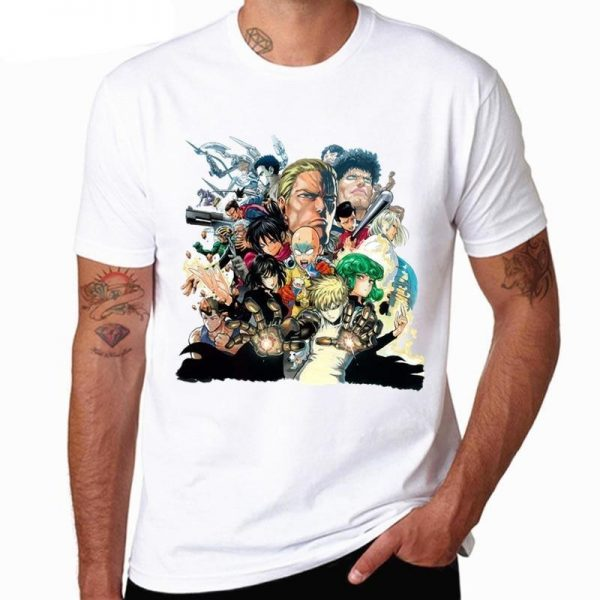 T-Shirt One Punch Man Classe S S Official Dr. Stone Merch