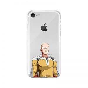 Coque One Punch Man iPhone Saitama Concentré iphone 4s Official Dr. Stone Merch