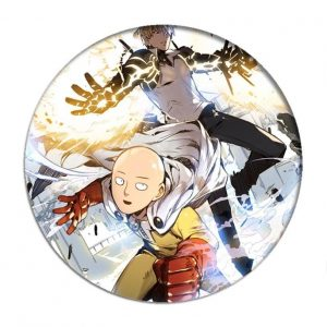 Pin's genos 5.8cm Official Dr. Stone Merch